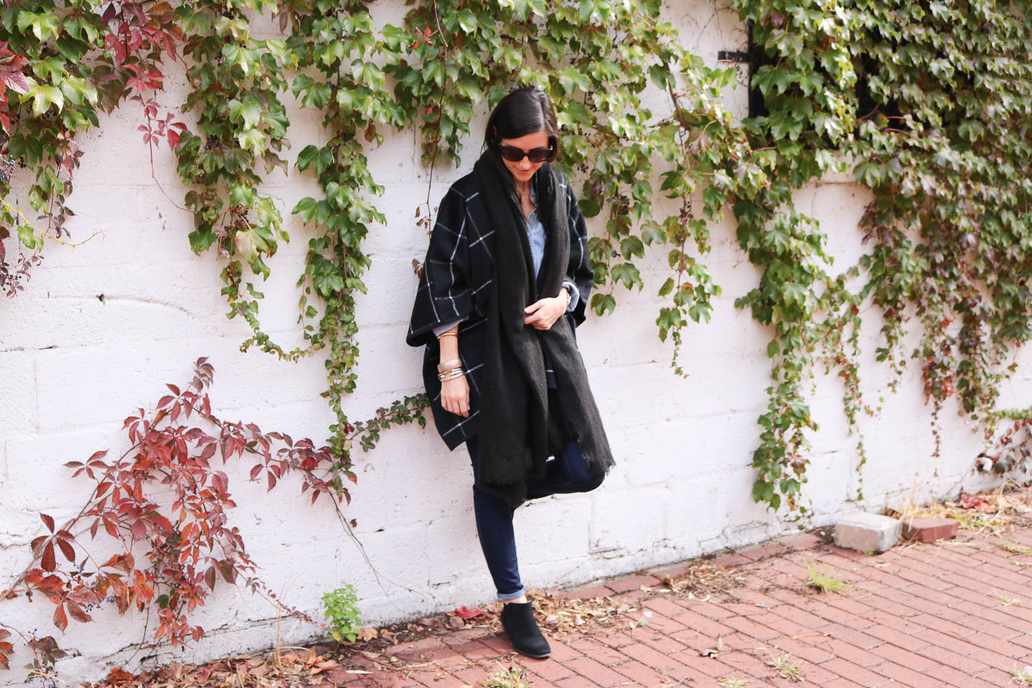 How to Layer a Poncho for Fall