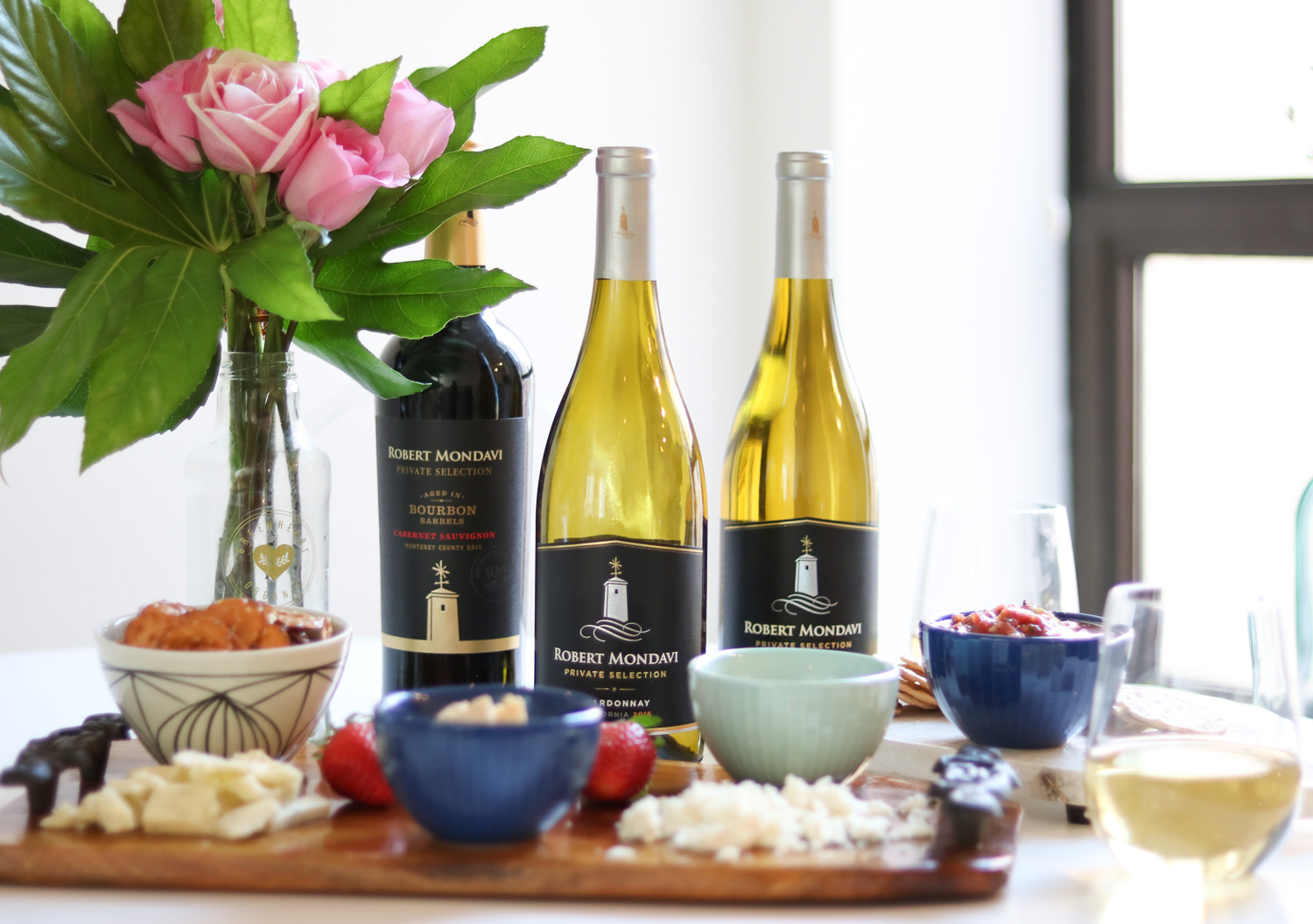 Easy Appetizer for Happy Hour at Home with Robert Mondavi Private Selection