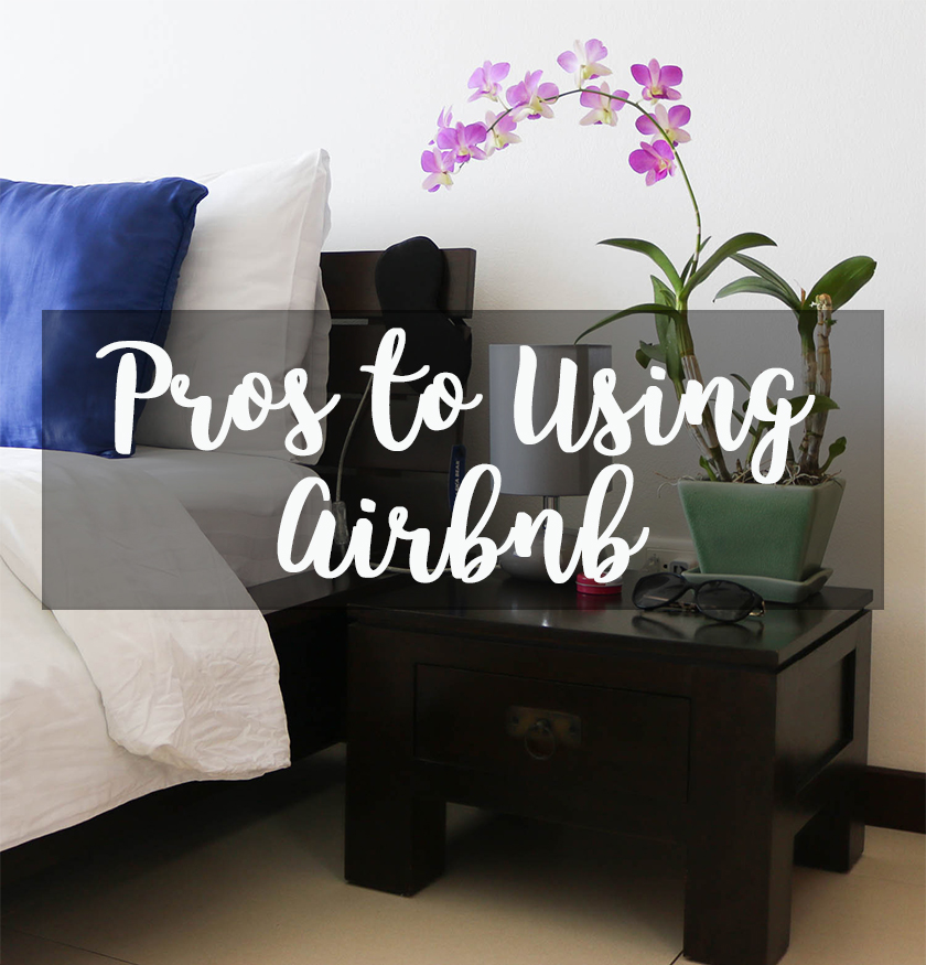 Pros to Using Airbnb + A $40 Discount Code for Your Next Trip!