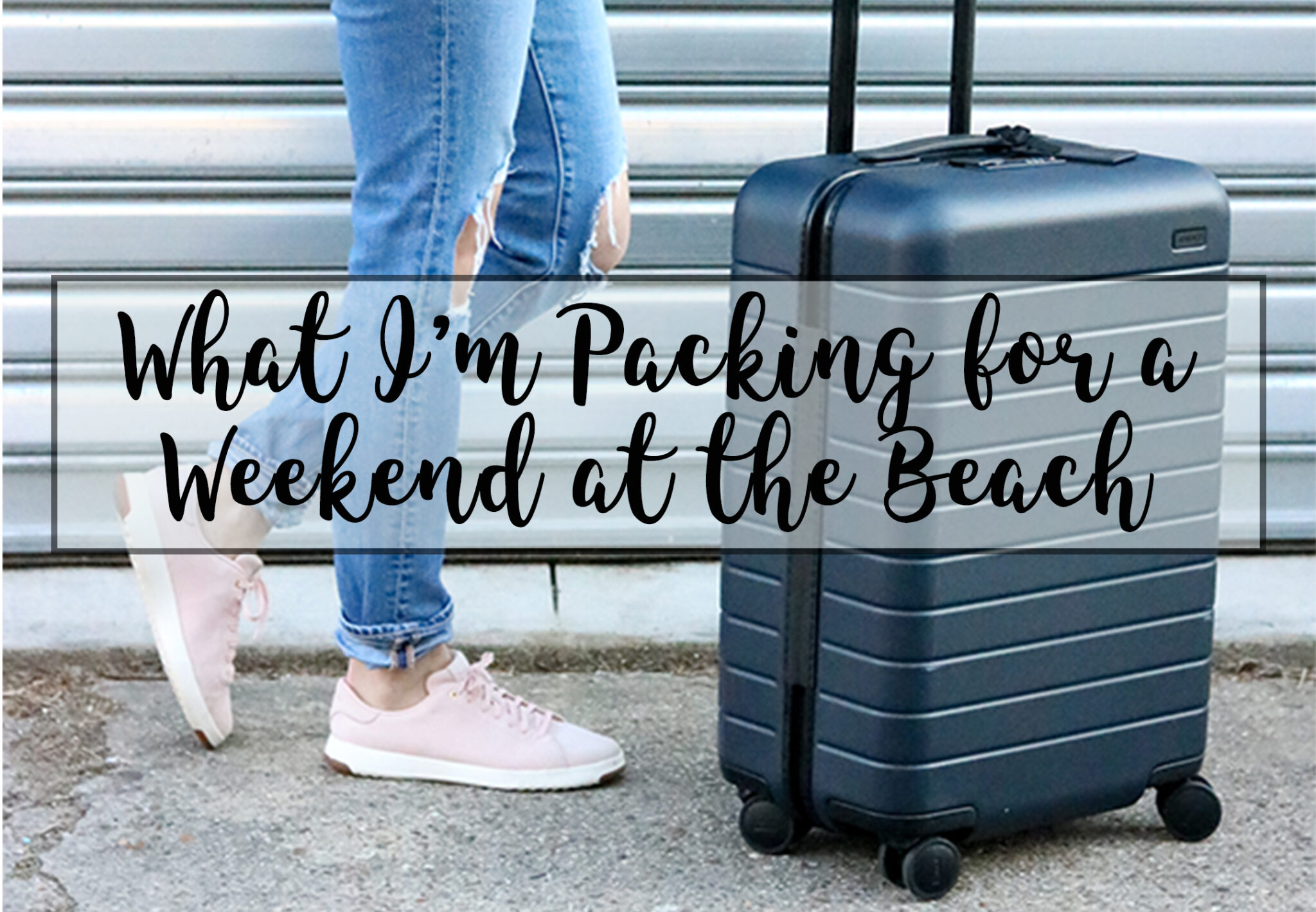What I'm Packing for a Weekend at the Beach