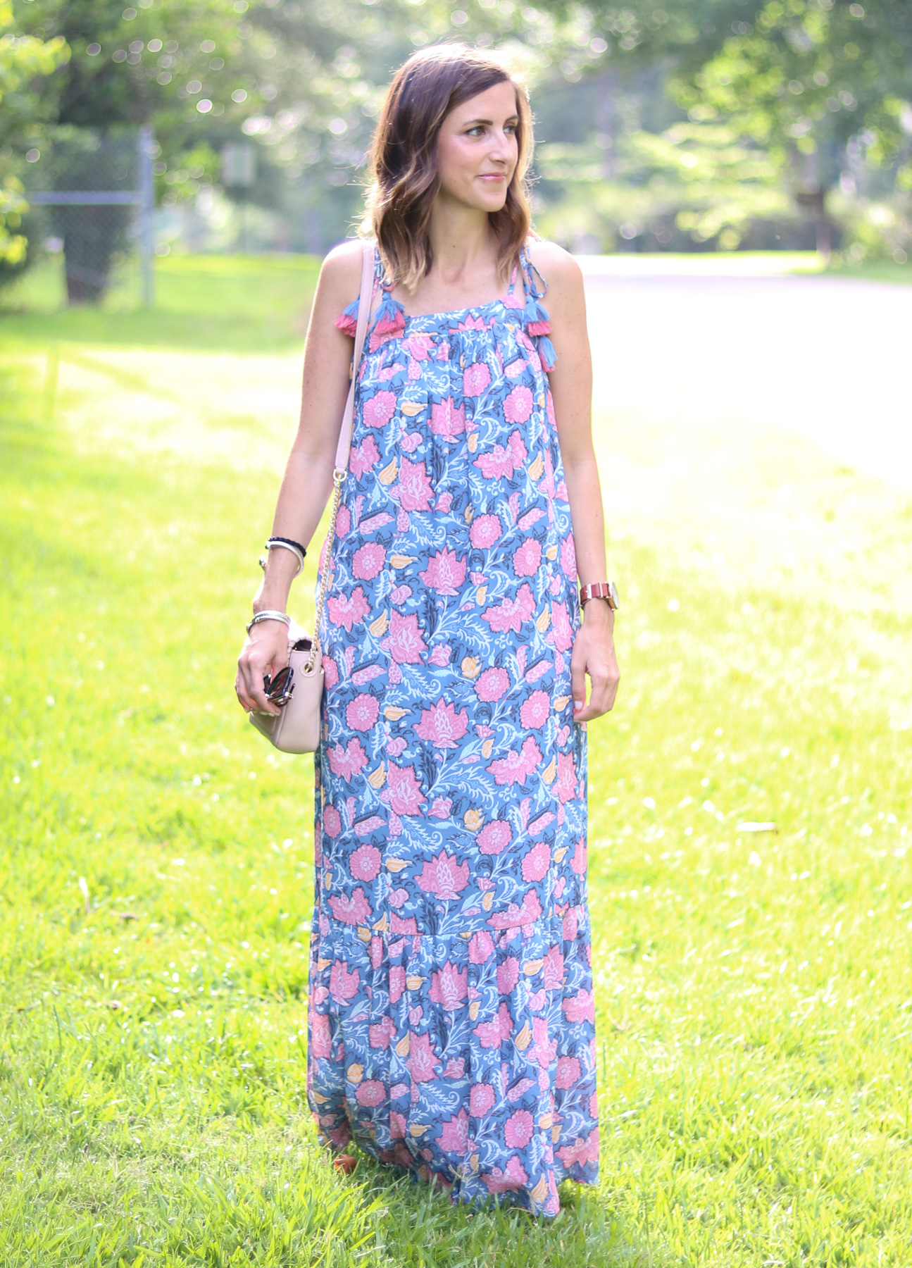 The Perfect Floral Maxi Dress