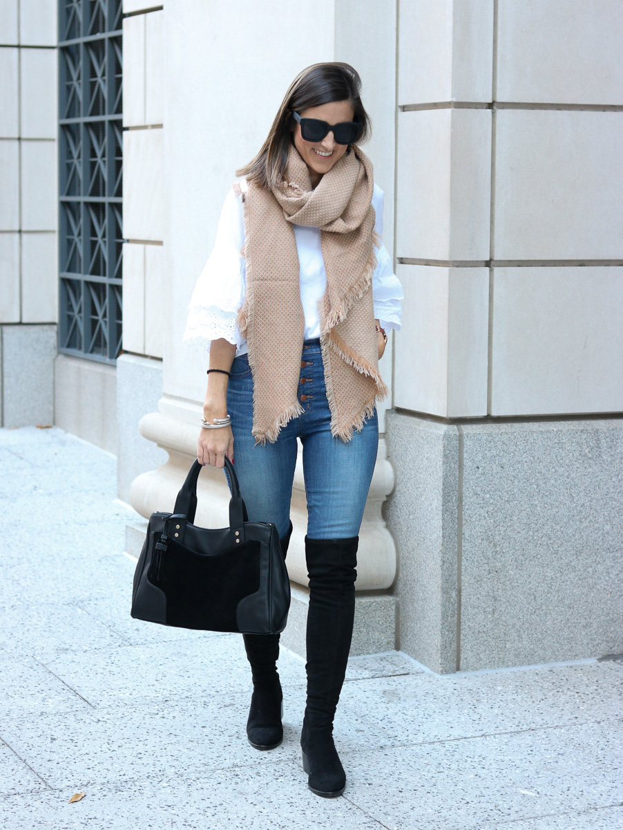 The Boots, Bag, and Scarf You Need for Fall!