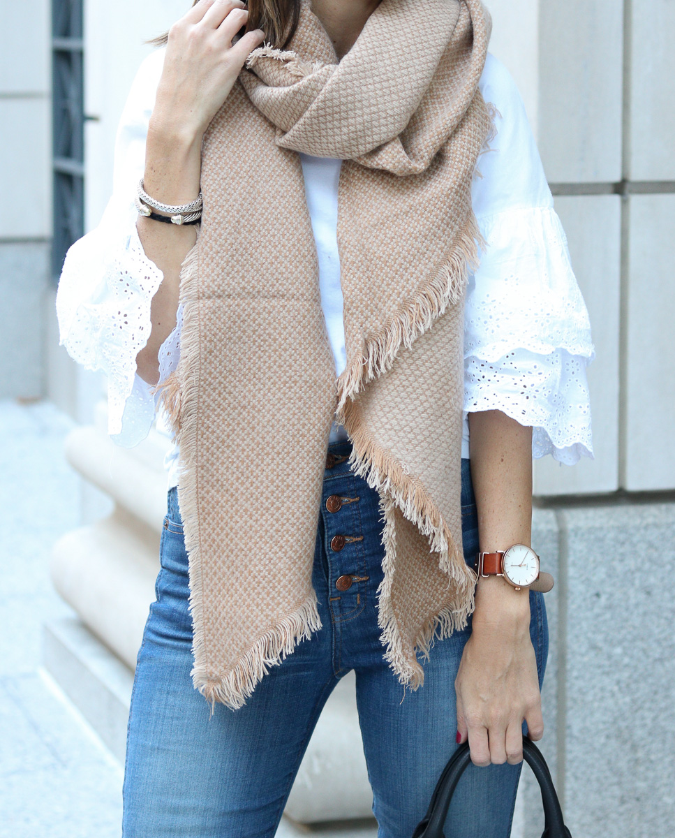 Oversized Scarf for Fall