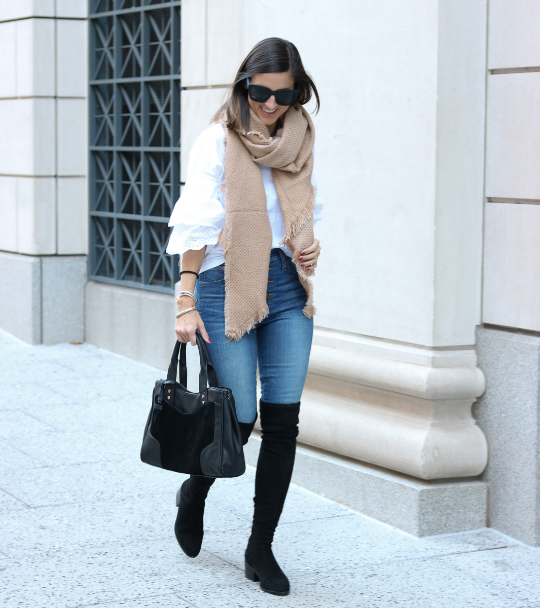 Boots, Bag, Scarf for Fall