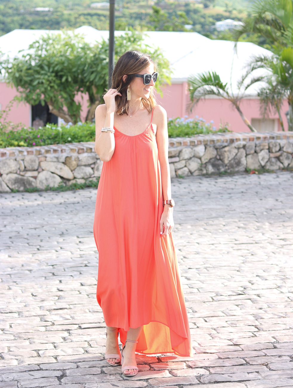 Perfect maxi dress for a summer wedding cobalt chronicles for Maxi dress for a wedding