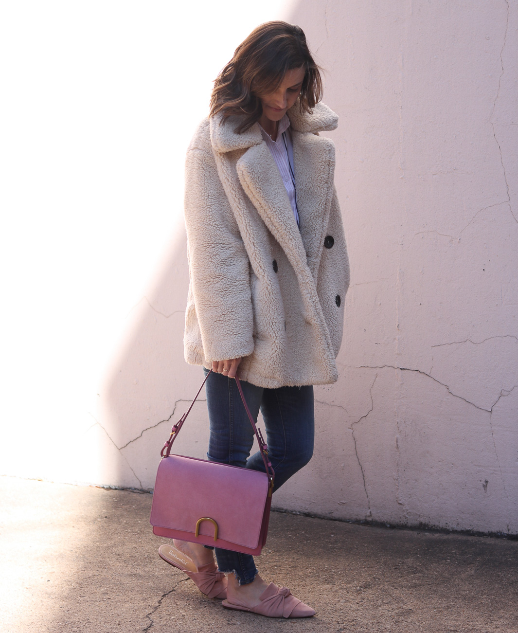 Fossil Blush Bag | Cobalt Chronicles | Washington DC | Style Blogger