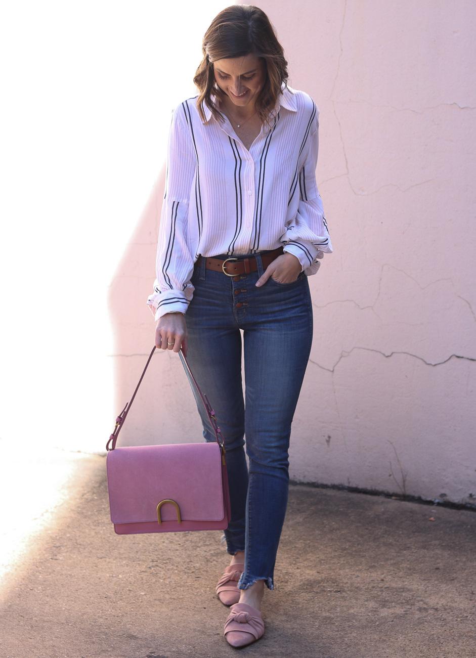 Blush Bag | Cobalt Chronicles | Washington DC | Style Blogger